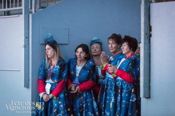 Filage en costume du 10 juillet 2019, fête des vignerons 2019 - Bourgeons, Répétitions, Photographies de la Fête des Vignerons 2019.
