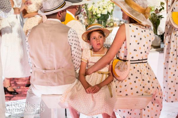 Filage en costume du 10 juillet 2019, fête des vignerons 2019 - Noce, Répétitions, Photographies de la Fête des Vignerons 2019.