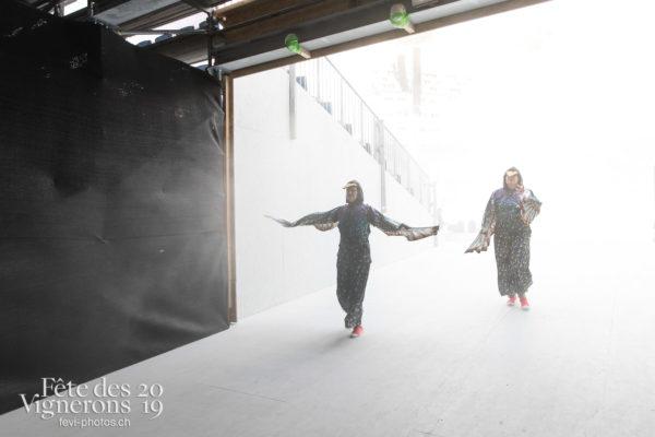 Répétition - Coulisses, Etourneaux, Photographies de la Fête des Vignerons 2019.