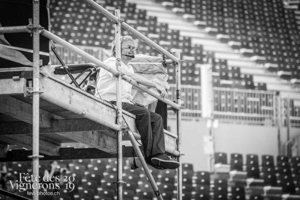 Première répétition en costume ! - Daniele Finzi Pasca, Direction artistique, Répétition générale, Photographies de la Fête des Vignerons 2019.
