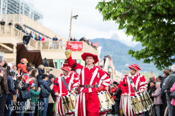 Proclamation - Ambiance, Cent pour Cent, Cortège, Proclamation, Suisse, Photographies de la Fête des Vignerons 2019.