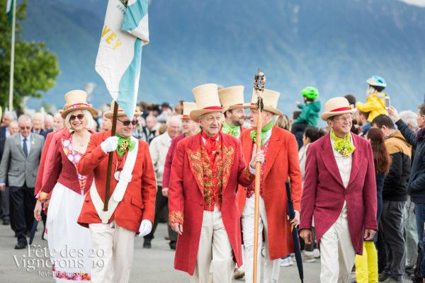 Proclamation - Abbé & Conseil, Ambiance, Cortège, Officiels, Proclamation, Suisse, Photographies de la Fête des Vignerons 2019.