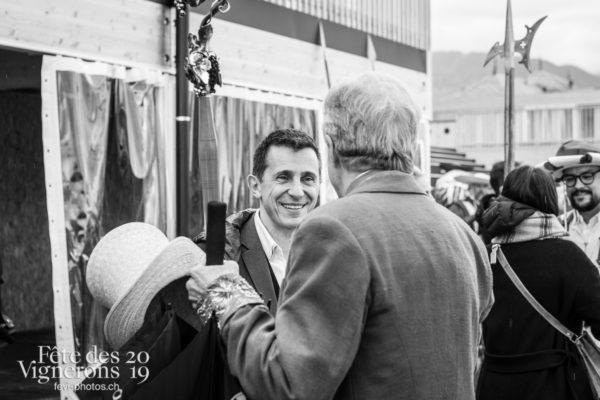 Proclamation - Abbé & Conseil, Ambiance, Officiels, Proclamation, Suisse, Photographies de la Fête des Vignerons 2019.