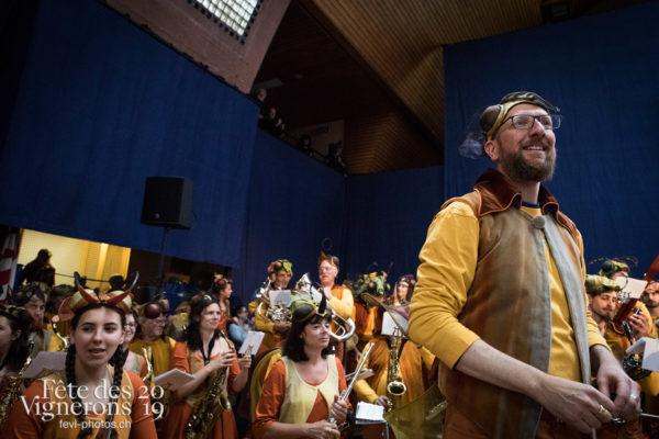 Proclamation - Ambiance, Harmonie de la Fête, Musiciens de la Fête, Musiciens harmonie, Proclamation, Suisse, Photographies de la Fête des Vignerons 2019.