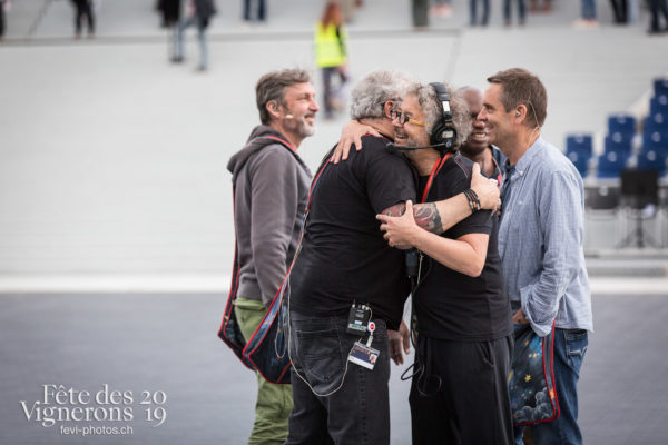 Répétitions larmes + bourgeons arène Fevi 2019 - Daniele Finzi Pasca, Direction artistique, Répétitions, Trois docteurs, Photographies de la Fête des Vignerons 2019.