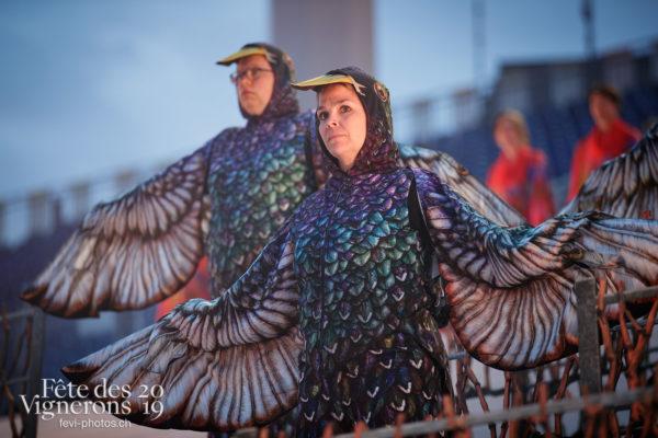 Filage en costumes - Etourneaux, Filage, Répétitions, Vendanges, Photographies de la Fête des Vignerons 2019.