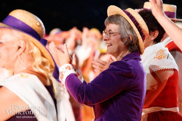 Filage en costumes - Filage, Répétitions, Saint-Martin, Photographies de la Fête des Vignerons 2019.