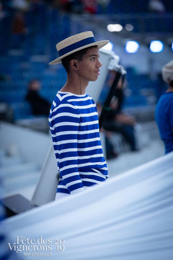 Filage costumes - Marins, Poésie de l'eau, Répétitions, Photographies de la Fête des Vignerons 2019.