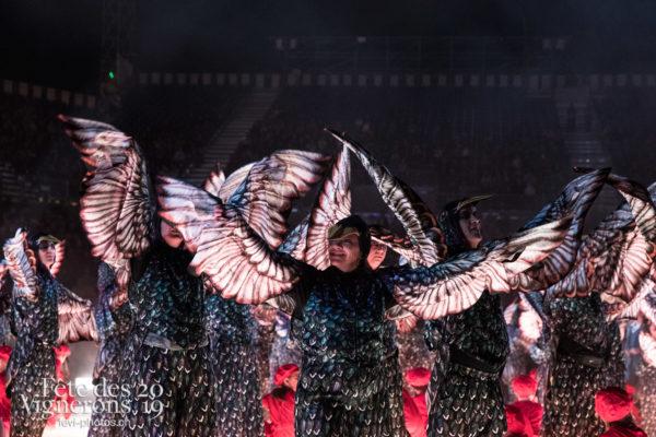 Répétition - Etourneaux, Photographies de la Fête des Vignerons 2019.