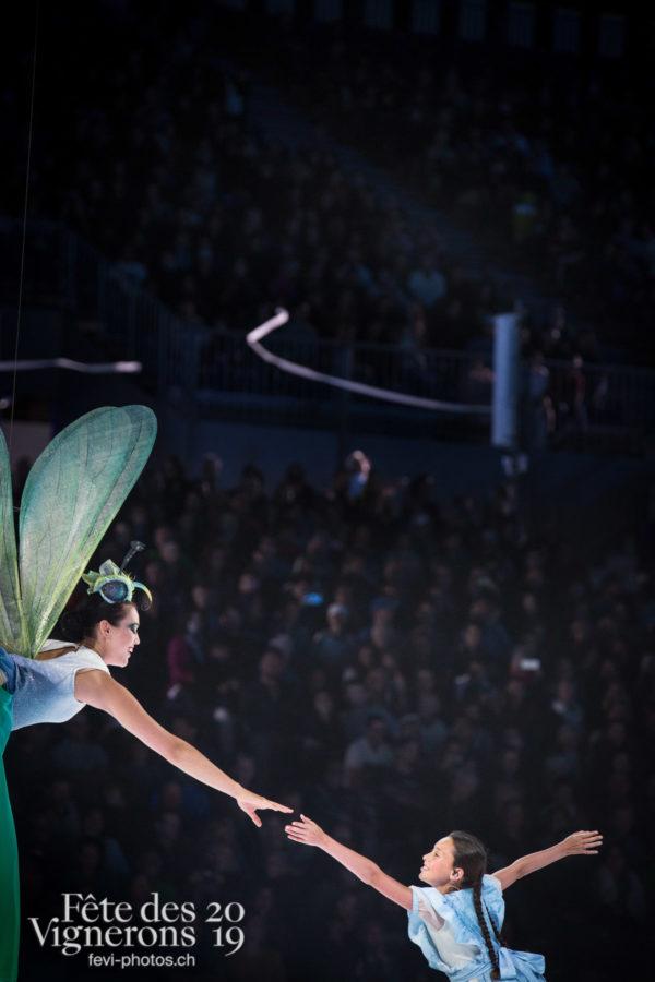 Représentation - Libellule, Petite Julie, Photographies de la Fête des Vignerons 2019.