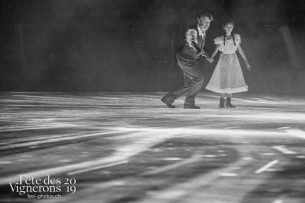 Représentation - Grand-père, Michel Voïta, Petite Julie, Photographies de la Fête des Vignerons 2019.