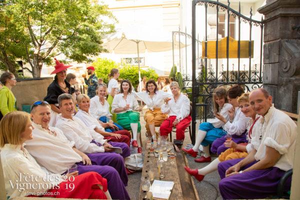 Ambiance en ville - Cartes, Caveaux, Photographies de la Fête des Vignerons 2019.