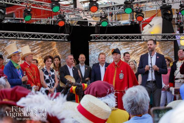 Cortège Genève - Abbé & Conseil, Abbé Président, Cortège, François Margot, Genève, journee-cantonale-geneve, Journées cantonales, Officiels, Photographies de la Fête des Vignerons 2019.