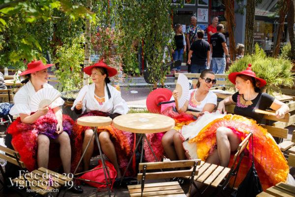 Ambiance en ville - Ambiance, Caveaux, Effeuilleuses, Rue, Photographies de la Fête des Vignerons 2019.