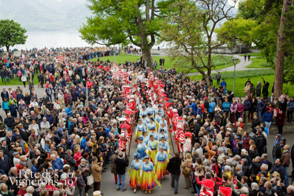 Proclamation Fête des Vigenrons - Bourgeons, Cortège, Proclamation, Photographies de la Fête des Vignerons 2019.