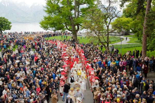 Proclamation Fête des Vigenrons - Cortège, Noce, Proclamation, Saint-Martin, Photographies de la Fête des Vignerons 2019.