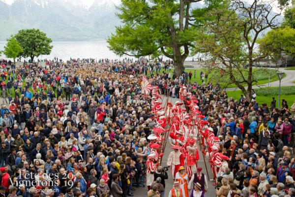 Proclamation Fête des Vigenrons - Cent pour Cent, Cortège, Proclamation, Photographies de la Fête des Vignerons 2019.