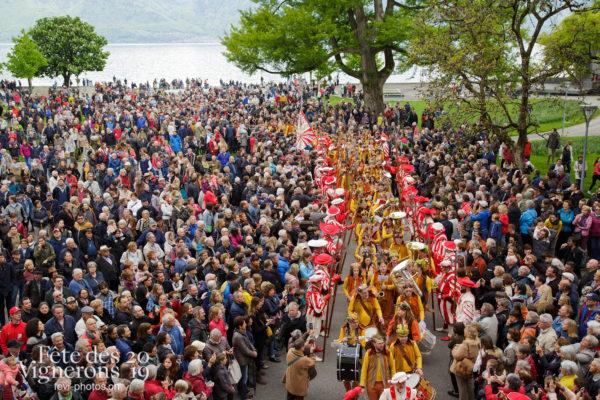 Proclamation Fête des Vigenrons - Cortège, Harmonie de la Fête, Musiciens de la Fête, Musiciens harmonie, Proclamation, Photographies de la Fête des Vignerons 2019.