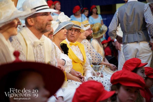 Proclamation Fête des Vigenrons - Noce, Officiels, Proclamation, Photographies de la Fête des Vignerons 2019.