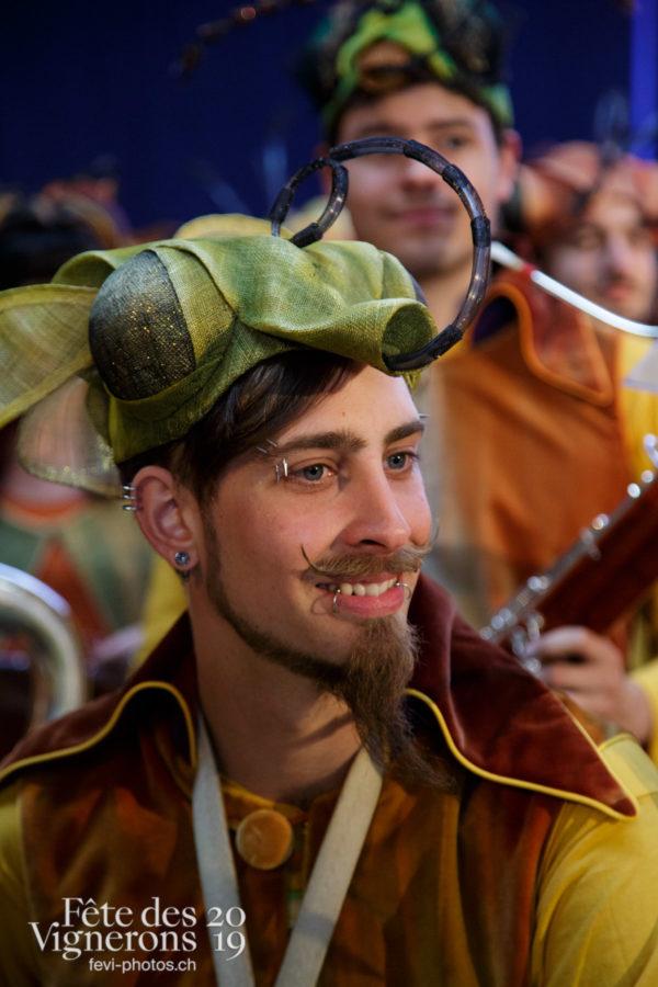 Proclamation Fête des Vigenrons - Harmonie de la Fête, Musiciens de la Fête, Musiciens harmonie, Officiels, Proclamation, Photographies de la Fête des Vignerons 2019.