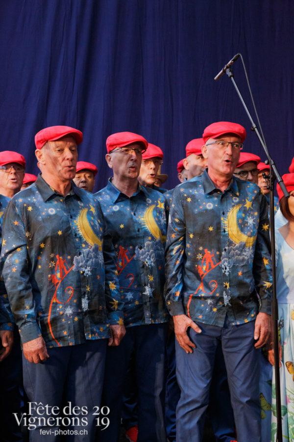 Proclamation Fête des Vigenrons - Chœurs de la Fête, Musiciens de la Fête, Officiels, Proclamation, Photographies de la Fête des Vignerons 2019.