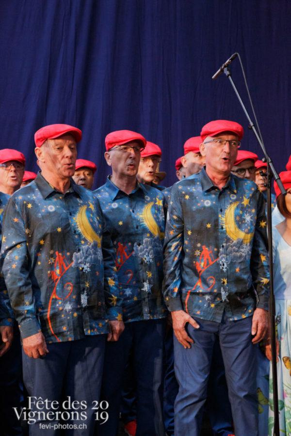 Précédée d'un cortège, la proclamation de la Fête des Vignerons s'est tenue aux Galeries du Rivage.