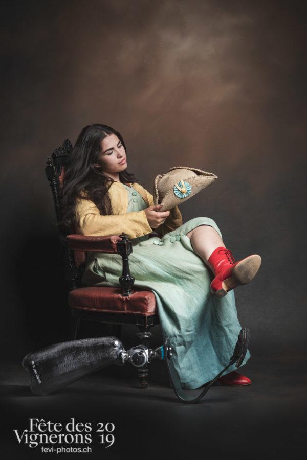 Messagere Sofia Gonzalez - Messagère, Studio, Photographies de la Fête des Vignerons 2019.
