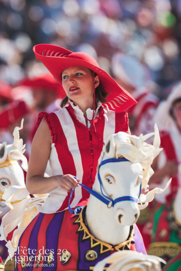 Répétition générale N° 2 - Cent pour Cent, Faux chevaux, Répétition générale, Répétitions, Photographies de la Fête des Vignerons 2019.