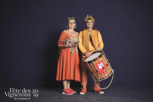 Studio - Musiciens de la Fête, Musiciens harmonie, Studio, Photographies de la Fête des Vignerons 2019.