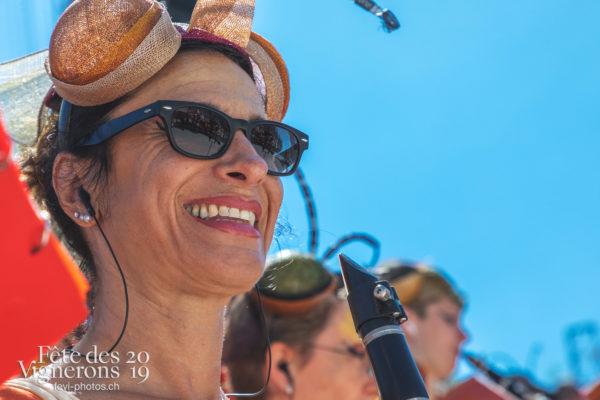 Spéctacle jour - Fourmis, Harmonie de la Fête, Musiciens de la Fête, Représentation, Photographies de la Fête des Vignerons 2019.