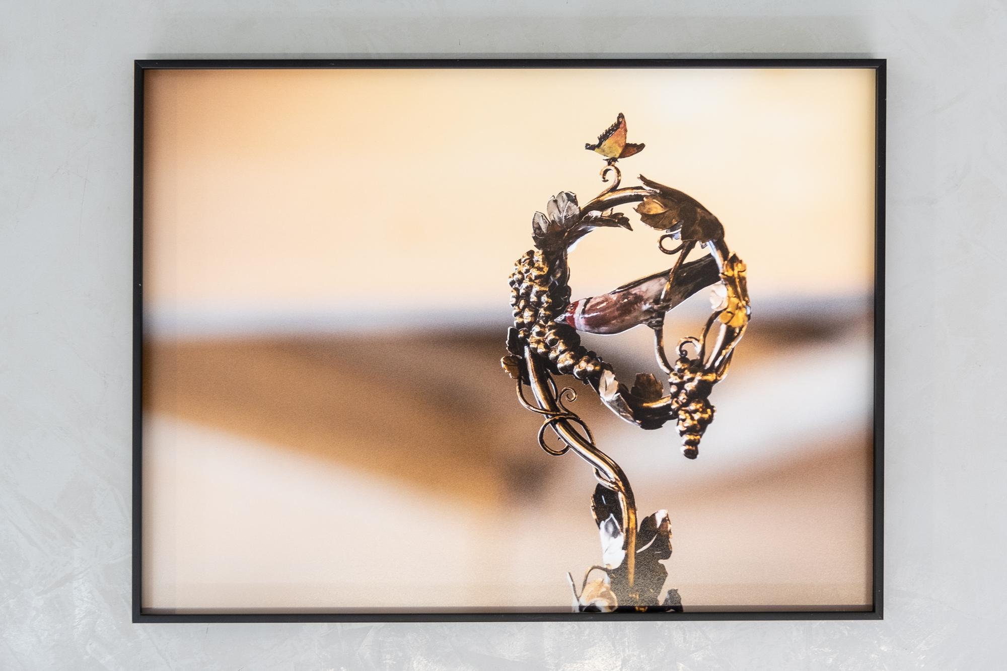 Contre collage Talbond et encadrement caisse américaine, photographies officielles de la Fête des Vignerons 2019