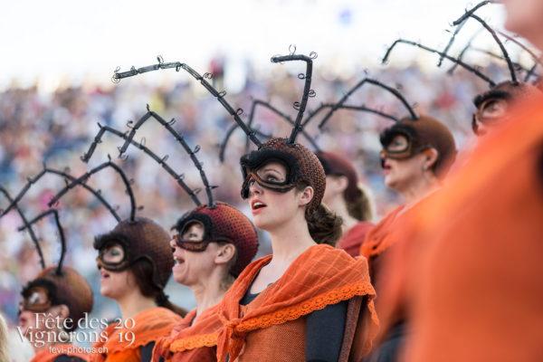 07-17_repetition_generale_JulieM-4442 - Choristes-percussionnistes, Filage, Fourmis, percu-choristes, Percussionnistes, Répétition générale, Sauterelles, Photographies de la Fête des Vignerons 2019.
