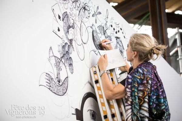 07-21_st_gall&coulisses_JulieM-6848 - Coulisses, dessins-coulisses, Etourneaux, Photographies de la Fête des Vignerons 2019.