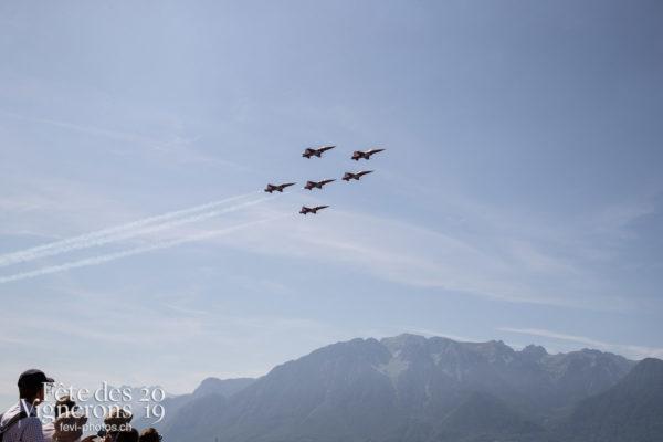 1 er aout - Patrouille suisse, Photographies de la Fête des Vignerons 2019.