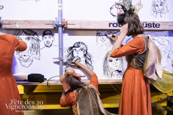 08-08_spectacle_photoshop©JulieMasson-8819 - dessins-coulisses, Harmonie de la Fête, Spectacle, Photographies de la Fête des Vignerons 2019.