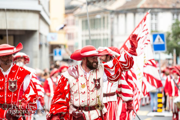 08_10_cortege_photoshop_©JulieMasson-9464 - Cent suisses, Cortège, Photographies de la Fête des Vignerons 2019.