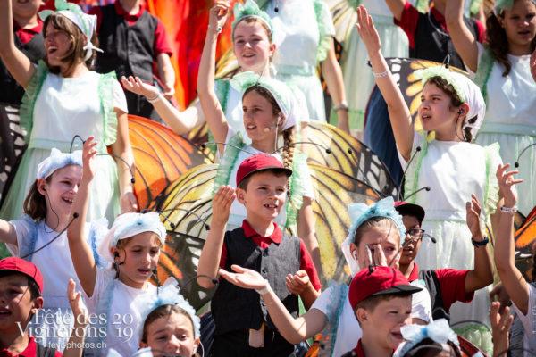 08_11_dernier_spectacle_©JulieMasson-0321 - Final, Musiciens de la Fête, Spectacle, Voix d'enfants, Photographies de la Fête des Vignerons 2019.