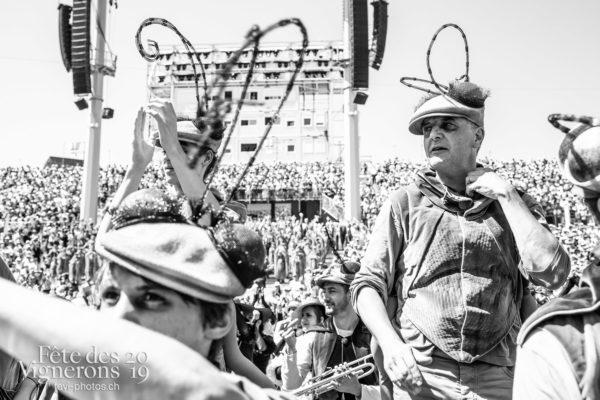 08_11_dernier_spectacle_©JulieMasson-1437 - Choristes-percussionnistes, Final, Fourmis, percu-choristes, Percussionnistes, Sauterelles, Spectacle, Photographies de la Fête des Vignerons 2019.