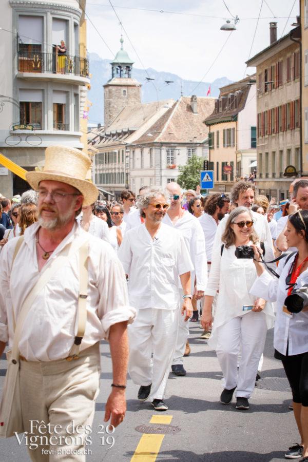 Cortège de la Confrérie - Cortège, Cortèges Confrérie, Direction artistique, Photographies de la Fête des Vignerons 2019.