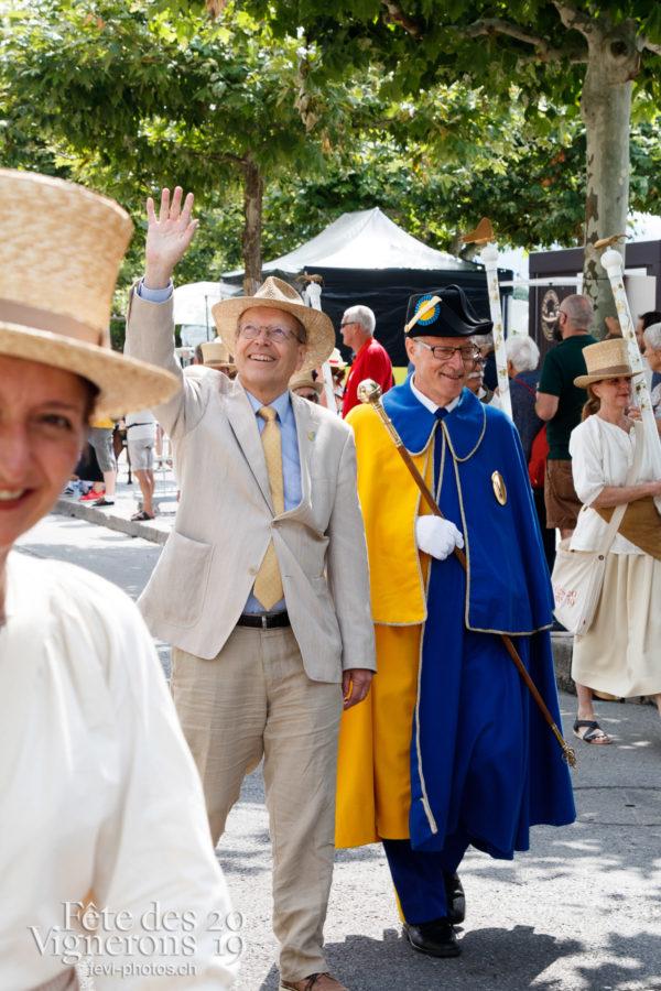 Journée cantonale Suisse centrale et Tessin - Cortège, Journées cantonales, Officiels, Suisse centrale, Tessin, Photographies de la Fête des Vignerons 2019.