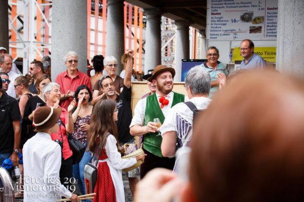 Ambiance en ville - Journées cantonales, Valais, Ville en Fête, Photographies de la Fête des Vignerons 2019.