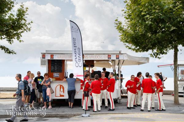 Ambiance en ville - fanfares, Journées cantonales, Valais, Ville en Fête, Photographies de la Fête des Vignerons 2019.