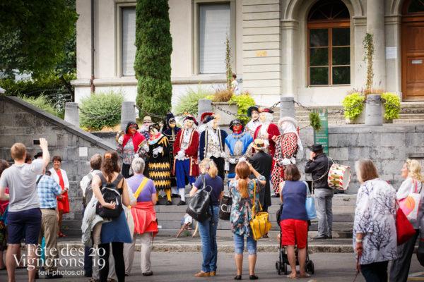 Ambiance en ville - Journées cantonales, Ville en Fête, Zürich, Photographies de la Fête des Vignerons 2019.