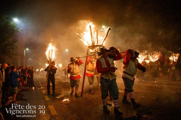 La parade de feu de Liestal - liestal, Parade de feu, Photographies de la Fête des Vignerons 2019.