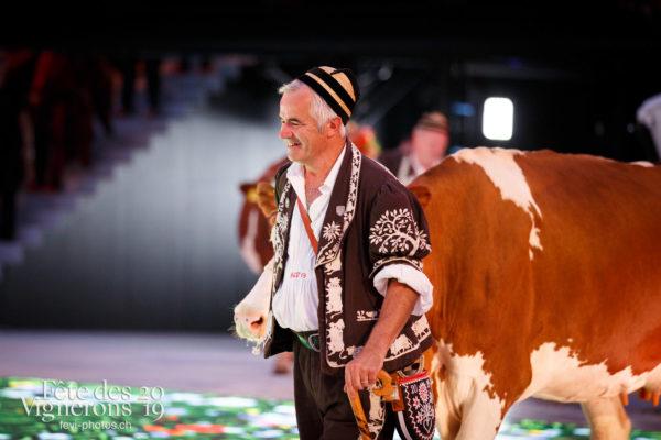 Spectacle - Armaillis, Hommes de lait, Ranz des vaches, Spectacle, Photographies de la Fête des Vignerons 2019.