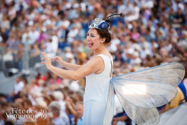 Spectacle - Chefs des choeurs, Spectacle, Vendanges, Photographies de la Fête des Vignerons 2019.