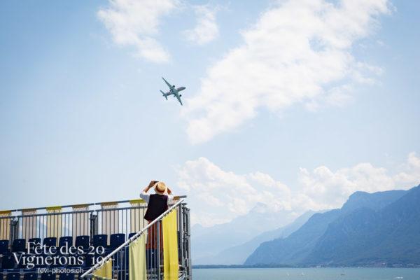 Patrouille suisse, avion Swiss - Avion Swiss, Patrouille suisse, Photographies de la Fête des Vignerons 2019.