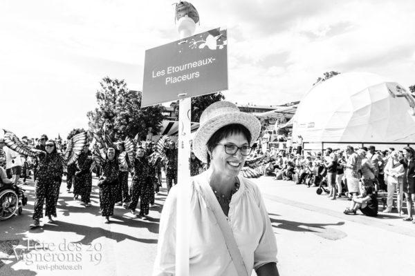 Cortège de la confrérie du 31 juillet 2019, Vevey, fête des vignerons - Cortège, Cortèges Confrérie, Etourneaux, Marmousets, Photographies de la Fête des Vignerons 2019.
