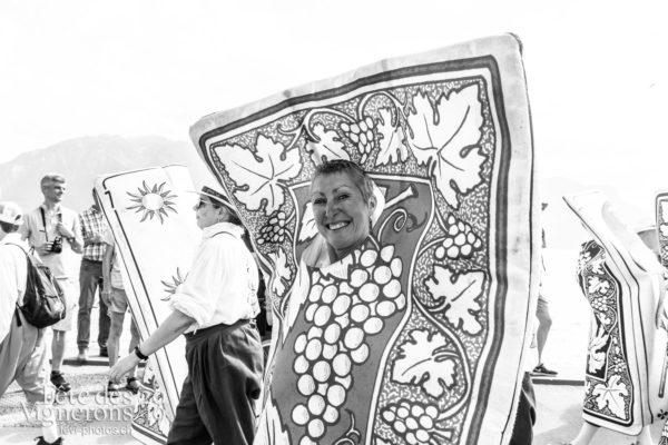 Cortège de la confrérie du 31 juillet 2019, Vevey, fête des vignerons - Cartes, Cortège, Cortèges Confrérie, Couleurs, Photographies de la Fête des Vignerons 2019.