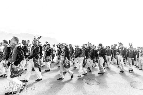 Cortège de la confrérie du 31 juillet 2019, Vevey, fête des vignerons - Cortège, Cortèges Confrérie, Hommes du premier printemps, Photographies de la Fête des Vignerons 2019.